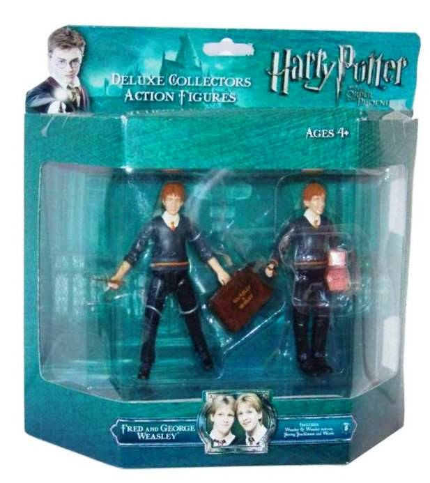Figurka Harry Potter deluxe - Fred a George Weasley 10 cm